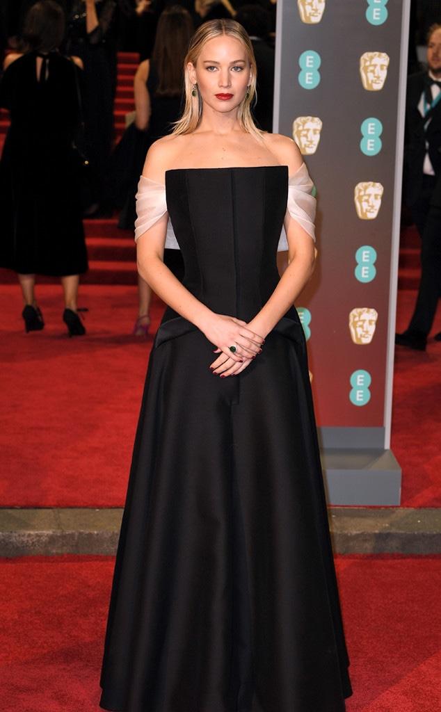 Jennifer Lawrence, BAFTAs, 2018