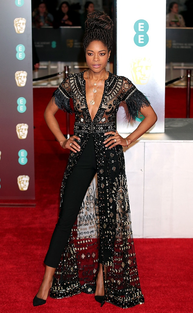 Naomi Harris, BAFTAs, 2018