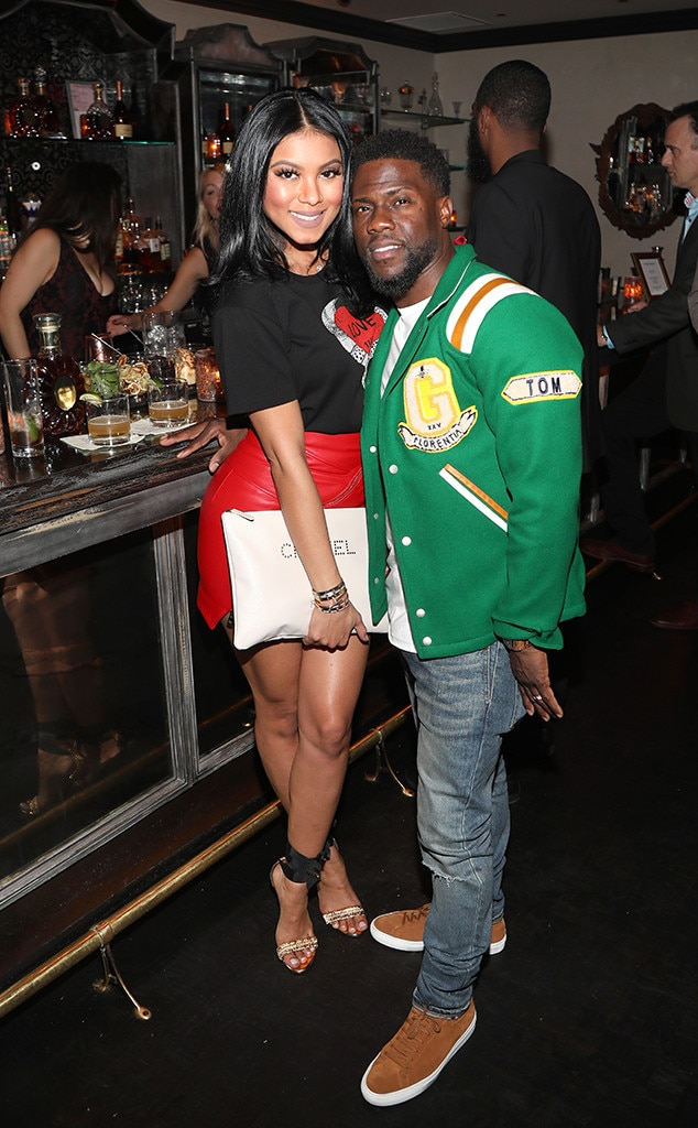 3aadd1e543f LeBron James and Kevin Hart from Celebs at 2018 NBA All-Star Weekend  Parties