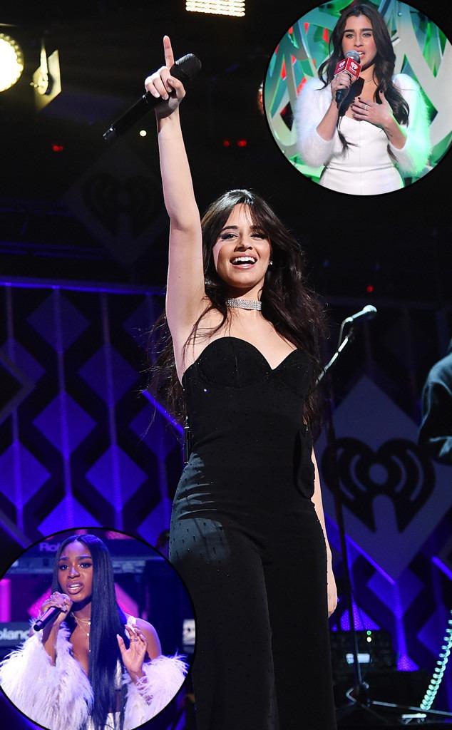 Jingle Ball 2018, Camila Cabello, Normani, Lauren Jauregui