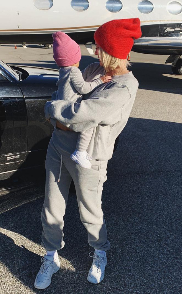 Kylie Jenner and Stormi Webster Are Twinning During Day in the Snow