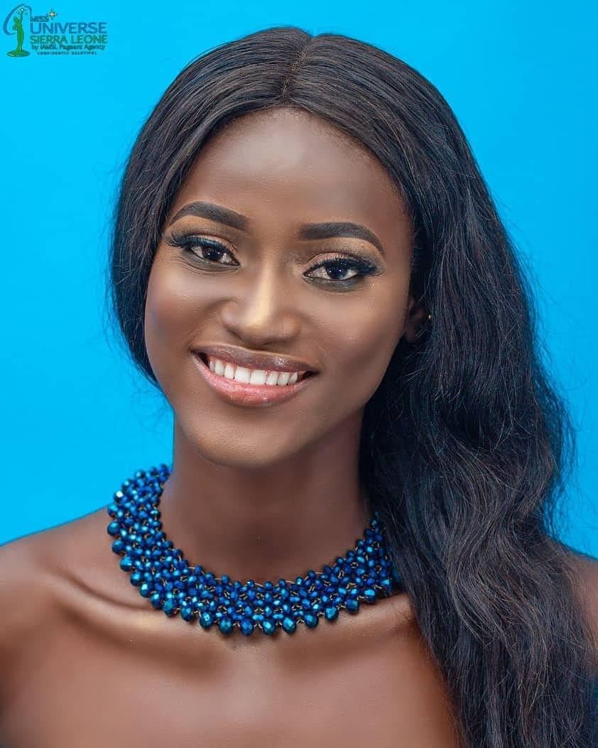 Miss Sierra Leona Marie Esther Bangura