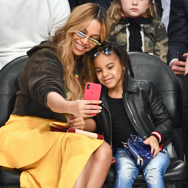 Beyonce, Blue Ivy Carter, NBA All-Star Game 2018