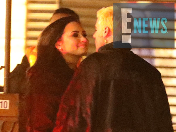 Demi Lovato and Henry Levy Kiss on Dinner Date