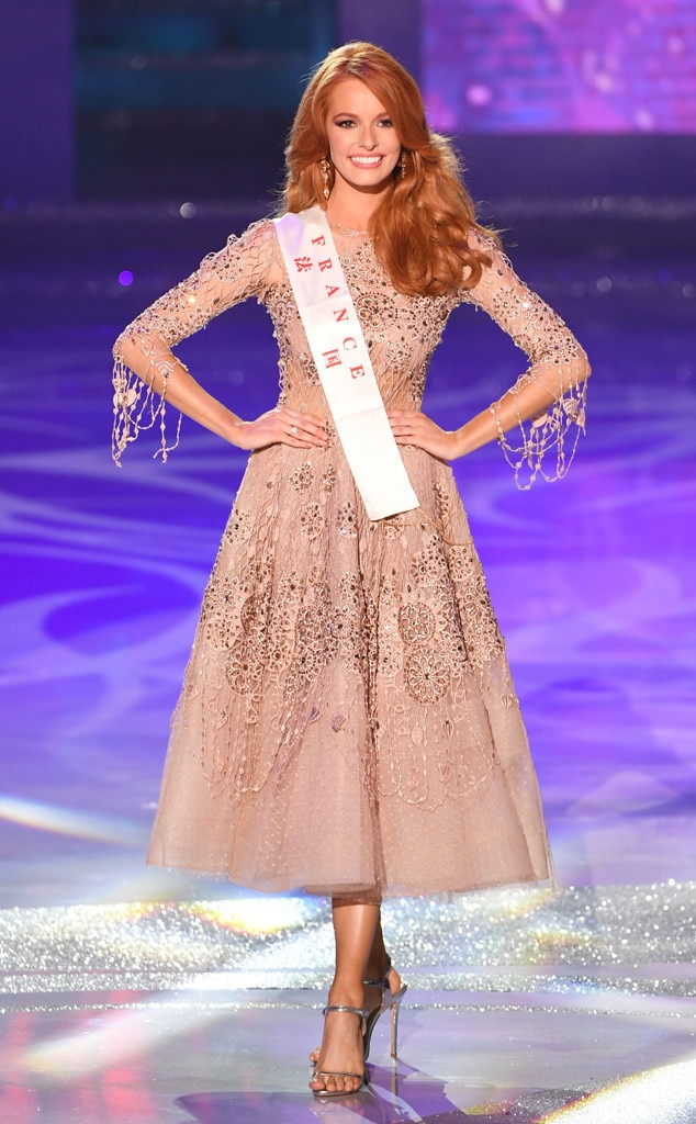 miss france from 2018 miss world pageant e news. Black Bedroom Furniture Sets. Home Design Ideas