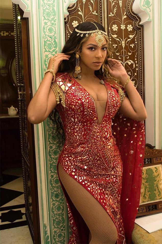 Beyonce, Indian Wedding, Instagram