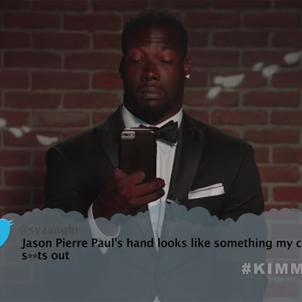 Jason Pierre Paul From Celebrity Mean Tweets From Jimmy