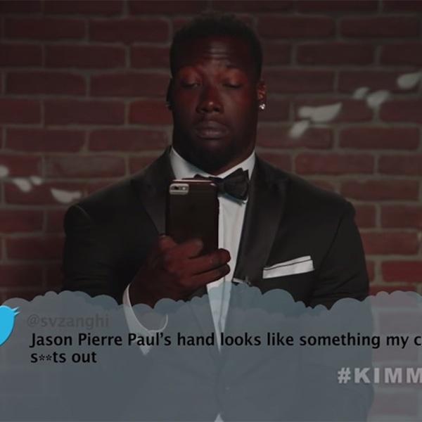 Jason Pierre Paul From Celebrity Mean Tweets From Jimmy