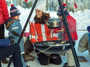 Kate Middleton, Prince William, Ski Slopes