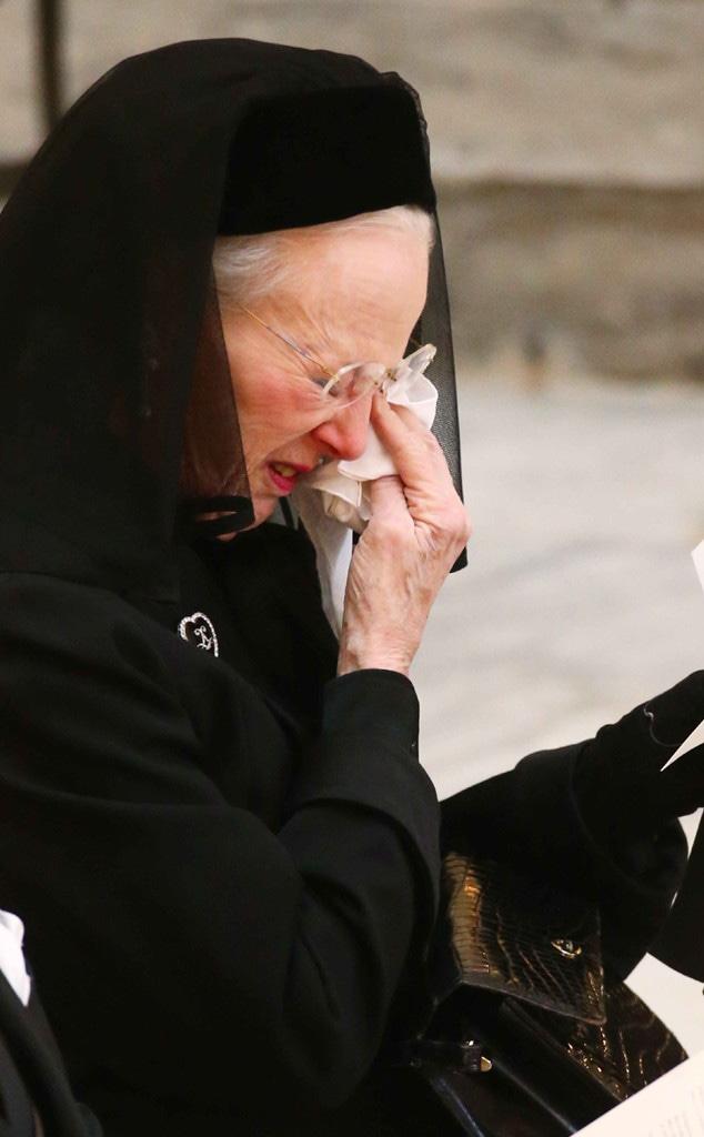 Queen Margrethe II of Denmark, Prince Henrik Funeral
