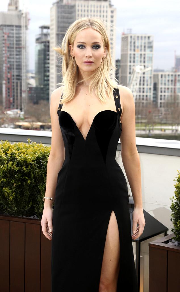 bc1b8e365f5e Watch Jennifer Lawrence Address Versace Dress Criticism and Dish on ...