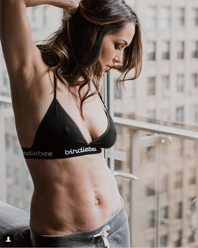 Brie Bella Shares Empowering Photo of Her Body After Baby ...