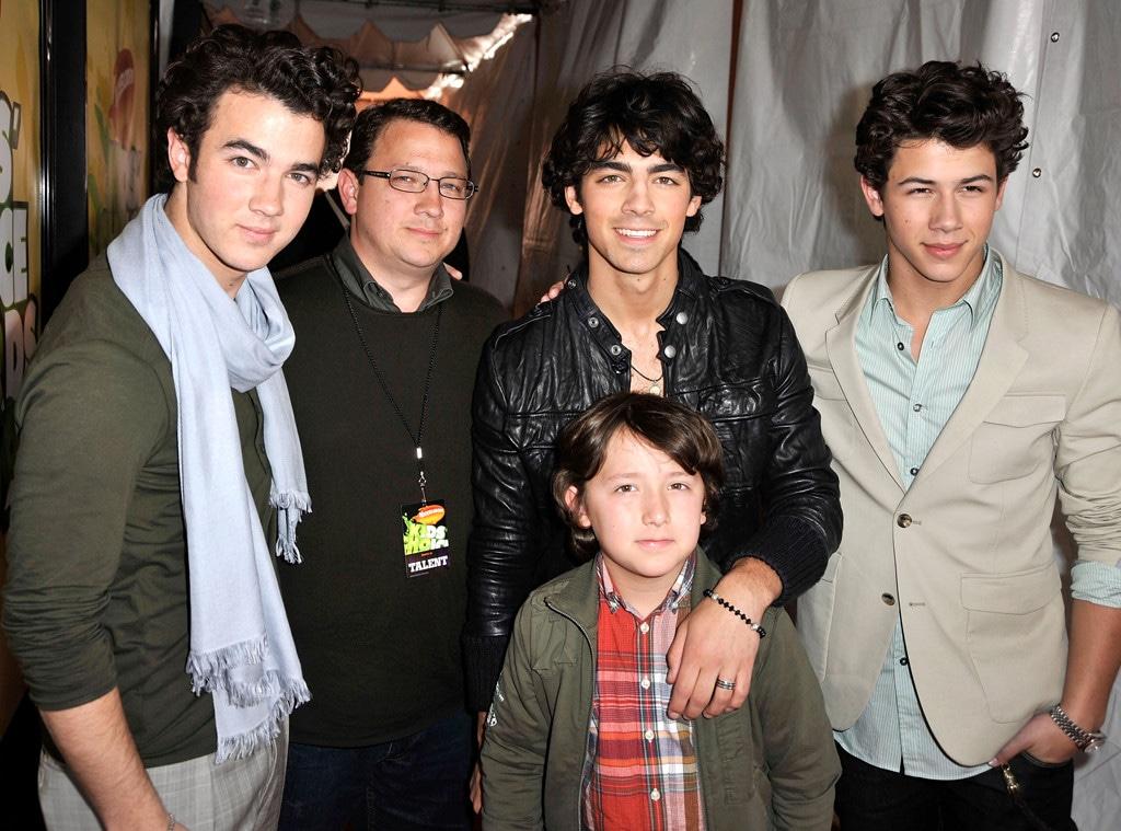 Kevin Jonas, Kevin Jonas Sr., Joe Jonas, Nick Jonas, Frankie Jonas