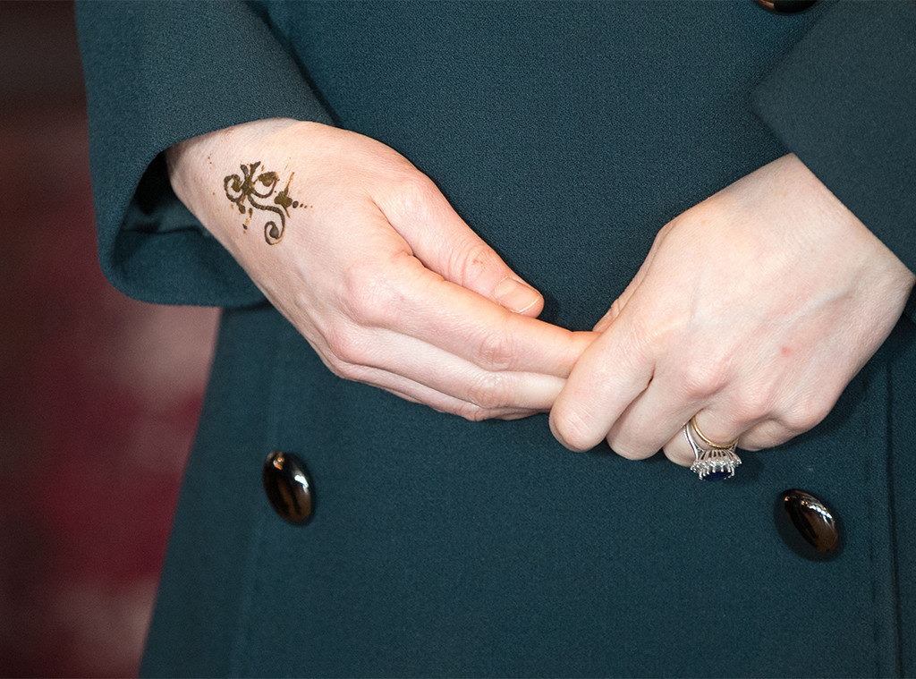 Kate Middleton, Henna Tattoo