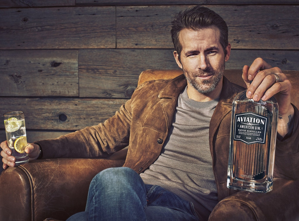 Ryan Reynolds -  The actor recently acquired ownership of Aviation Gin—the world's highest rated gin and an icon of the American craft distilling movement.
