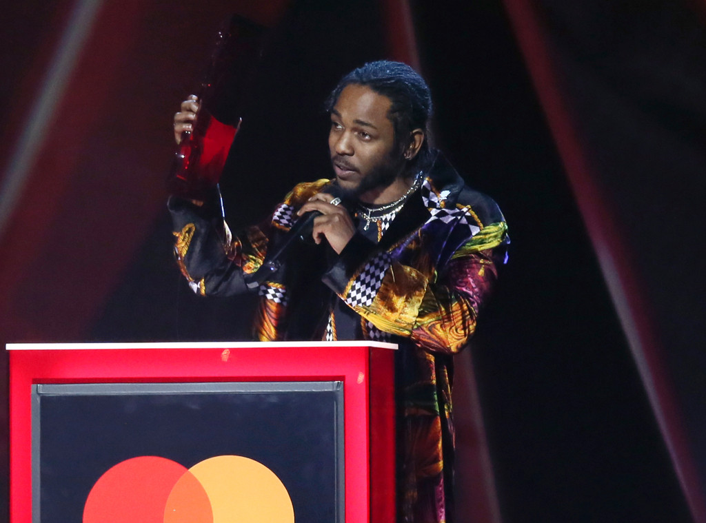 Kendrick Lamar, 2018 Brit Awards, winners
