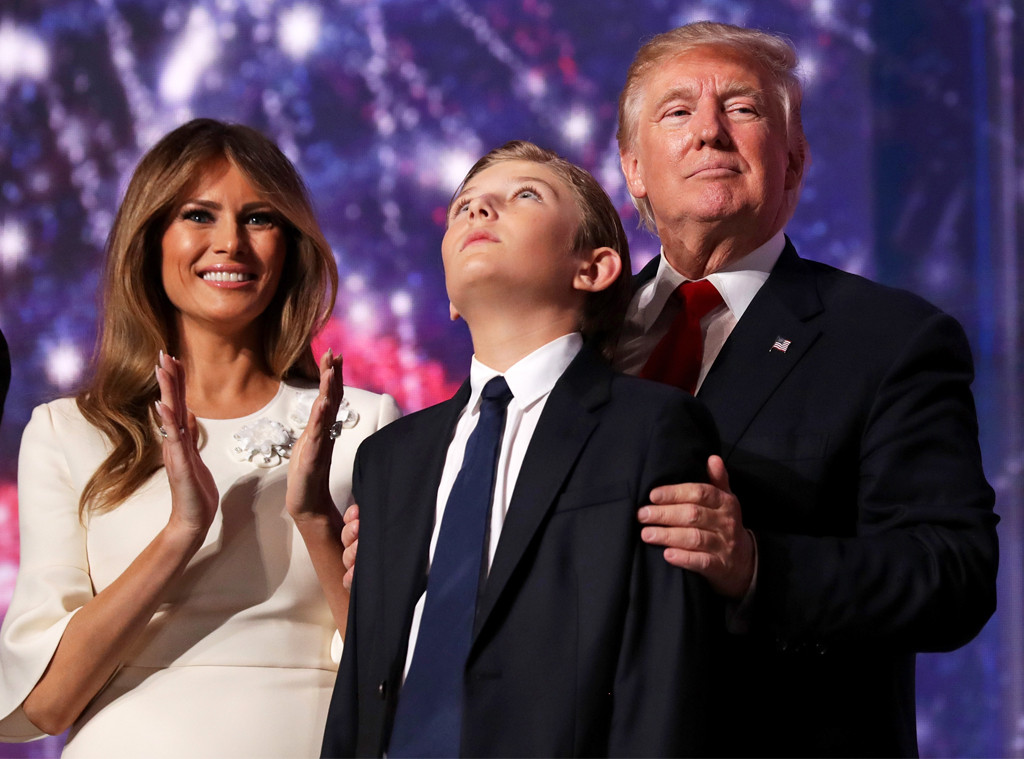 How Barron Trump S White House Life Is Different From Other First Kids E Online
