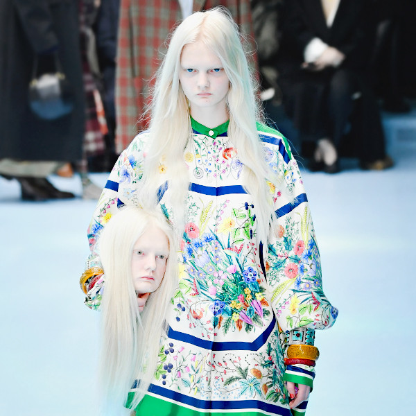 ESC: Gucci, Heads, Milan Fashion Week