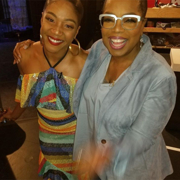 Tiffany Haddish, Oprah
