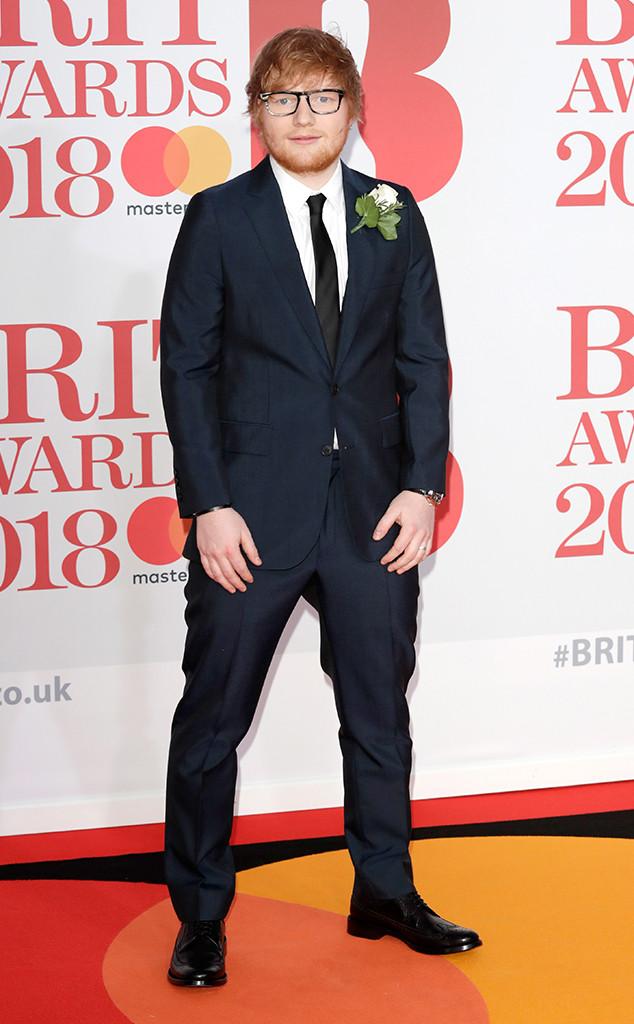 Ed Sheeran, 2018 Brit Awards