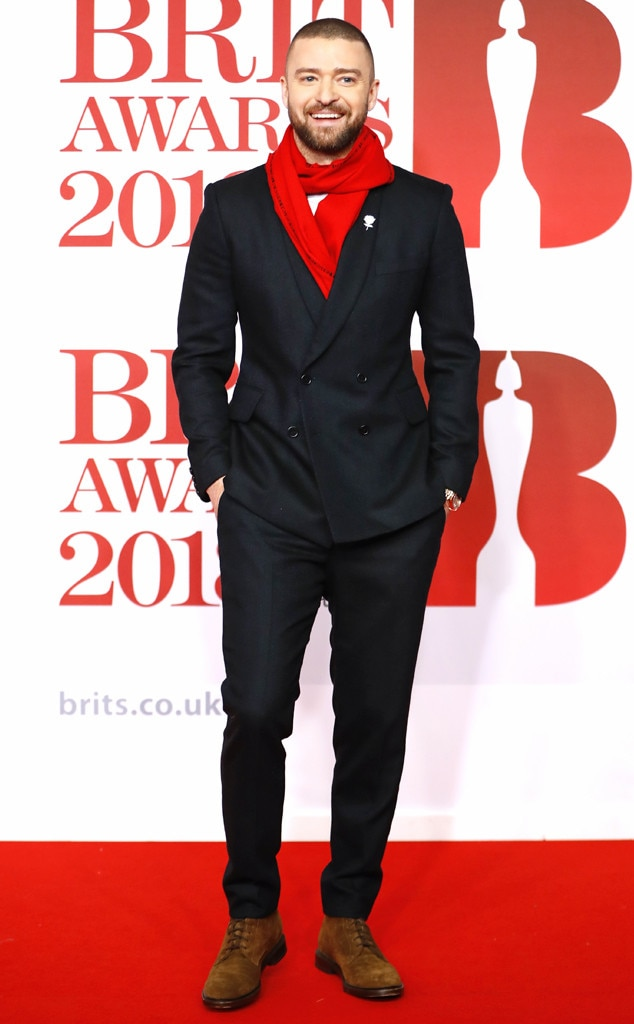 Justin Timberlake, 2018 Brit Awards