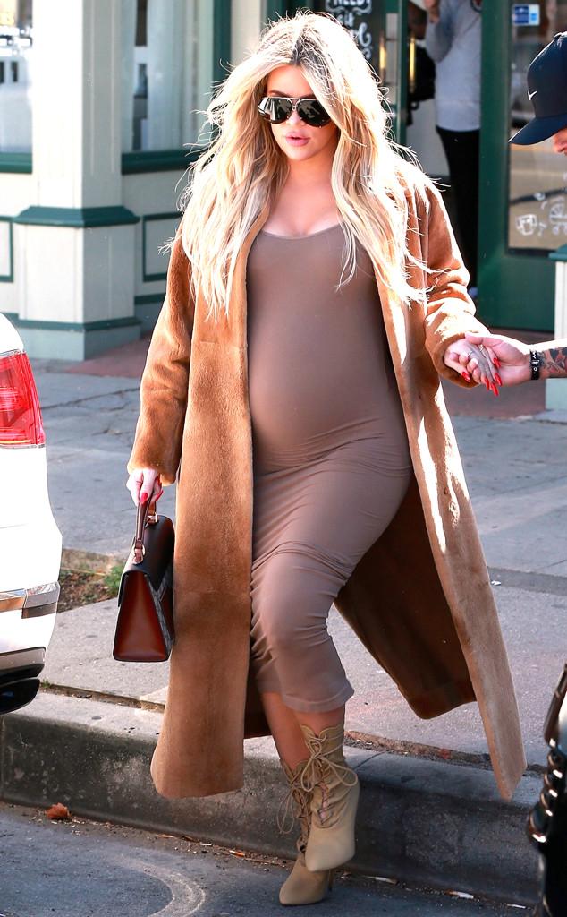 Khloe Kardashian, Pregnant