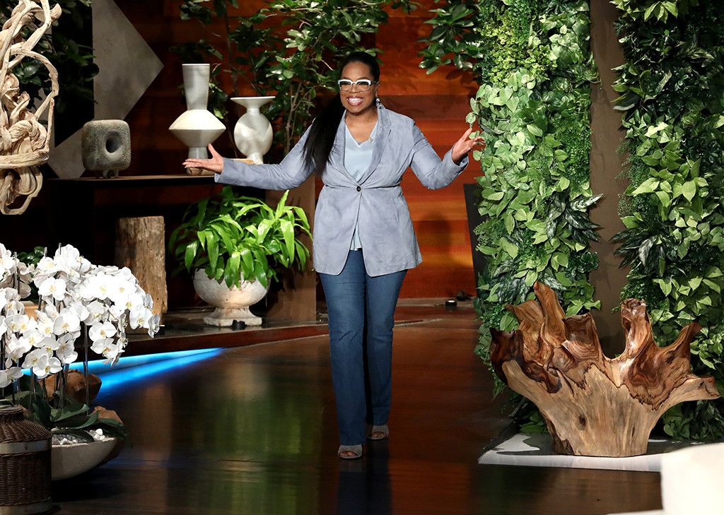 Oprah Winfrey, the show by Ellen Degeneres