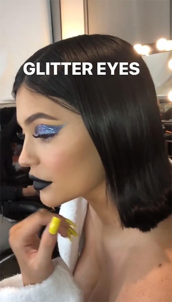 Kylie Jenner, Instagram Story