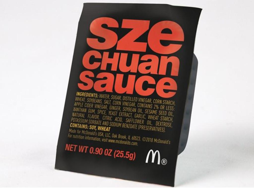 McDonalds, Sauce