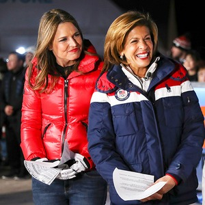 Savannah Guthrie, Hoda Kotb, 2018 Winter Olympics