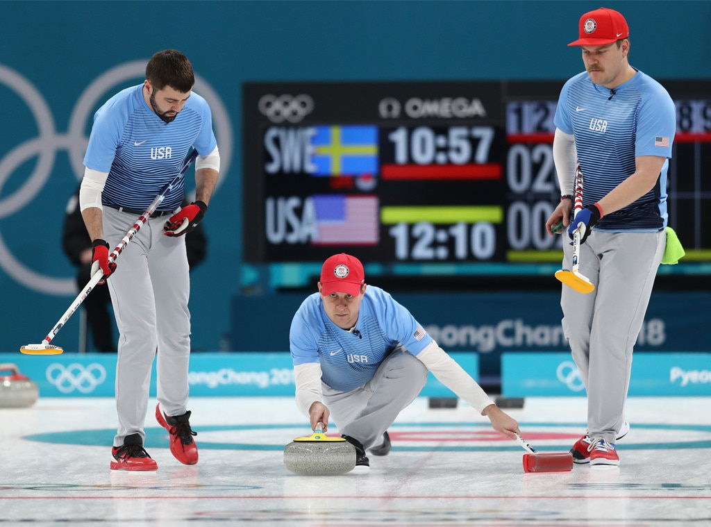 U.S. men's curling team, 2018 Winter Olympics