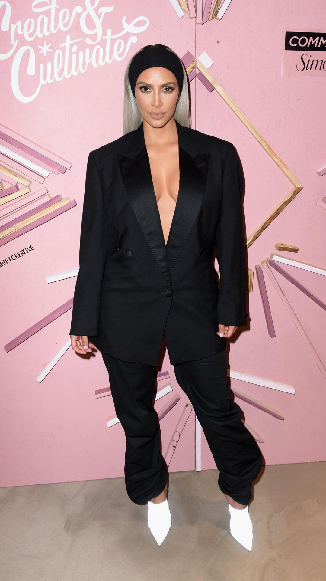 Lujoso Trajes De Boda De Kim Kardashian Galería - Colección del ...