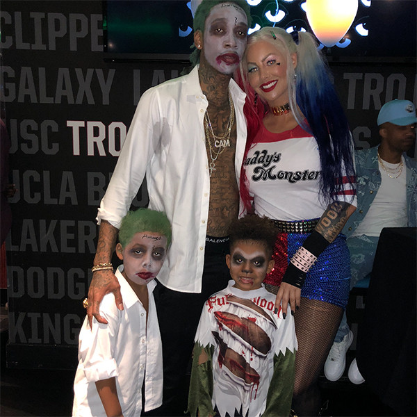 Amber Rose, Wiz Khalifa, Son, Sebastian, Evelyn Lozada, Son, Leo, Birthday