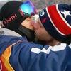 Gus Kenworthy, 2018 Winter Olympics, kiss