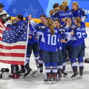 U.S. women's hockey team, 2018 Winter Olympics