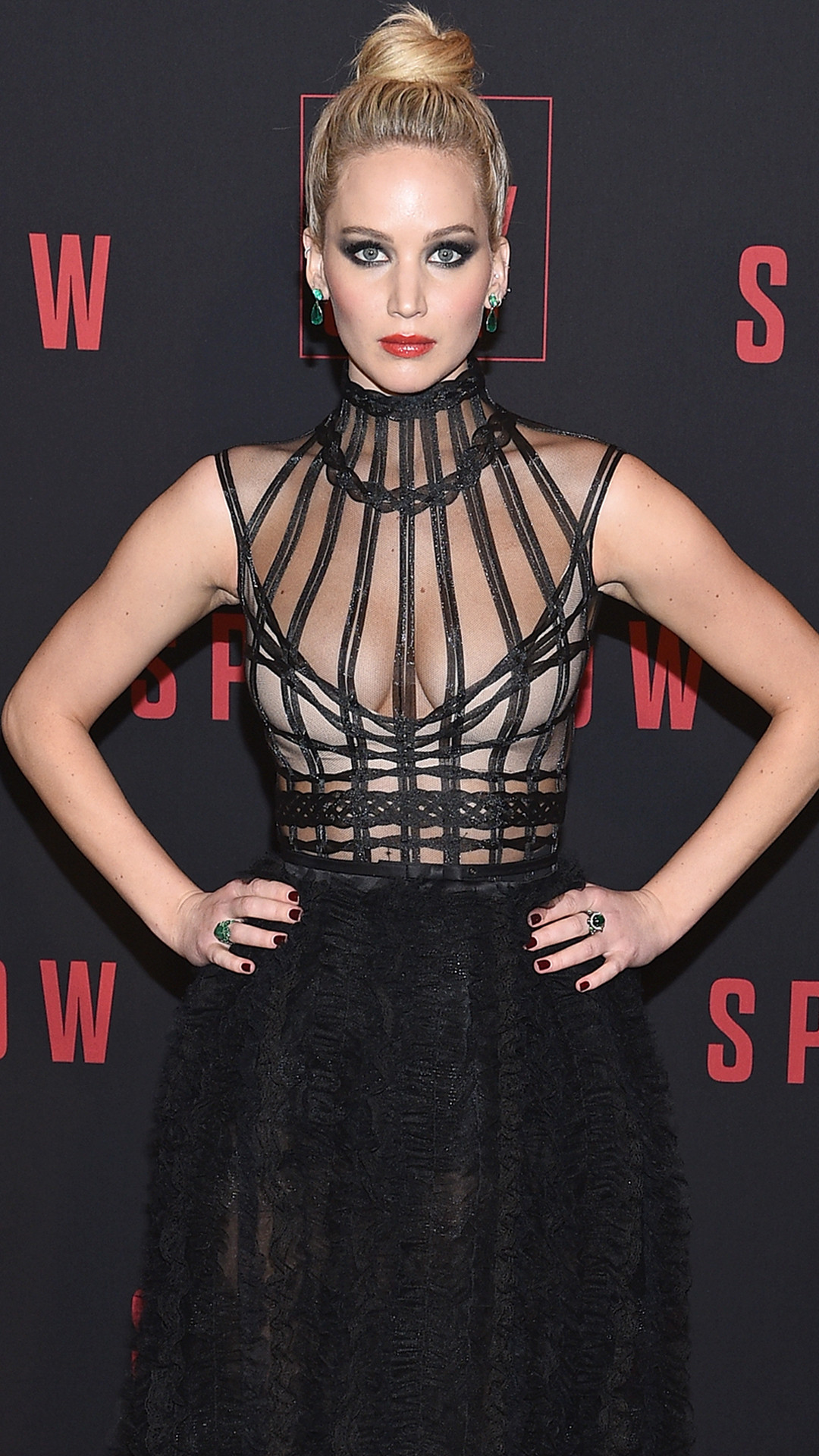 Jennifer Lawrence, Red Sparrow Premiere