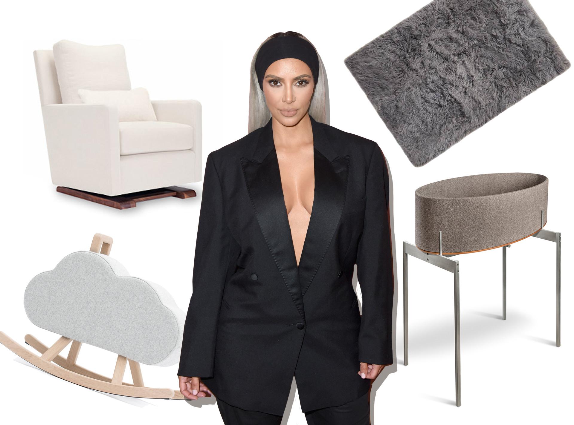 Kim Kardashian, Nursery