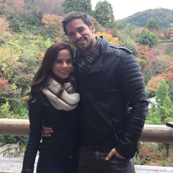 Brant Daugherty, Kim Hidalgo, Engagement