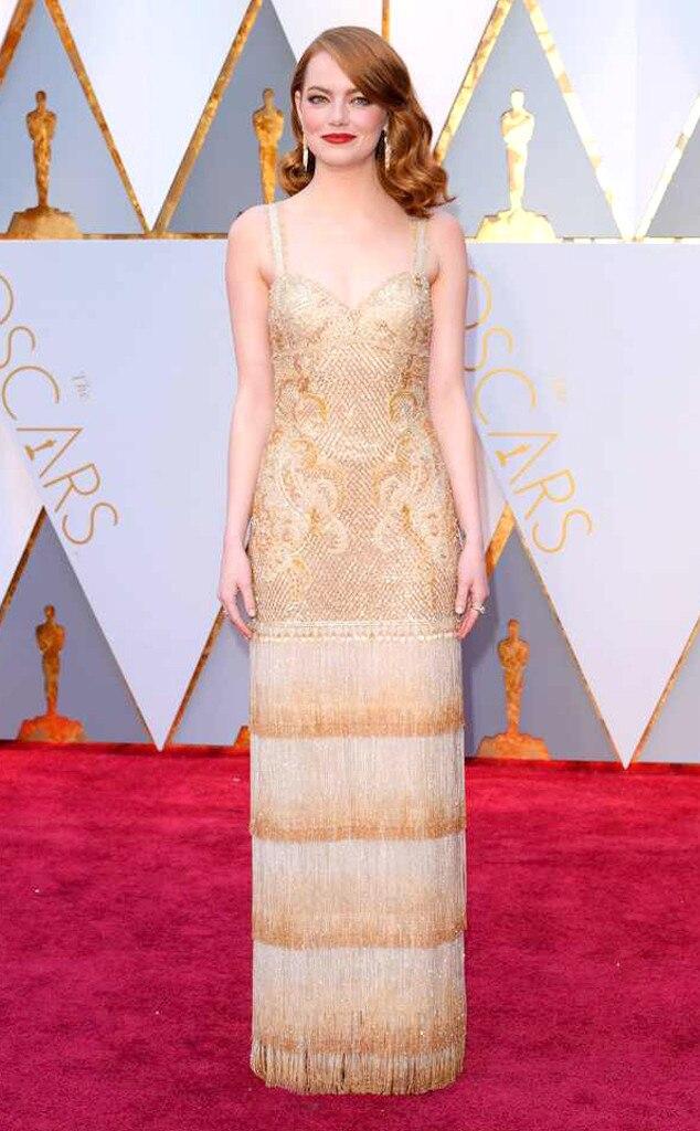 ESC: Emma Stone, 2017 Oscars, Academy Awards, Arrivals