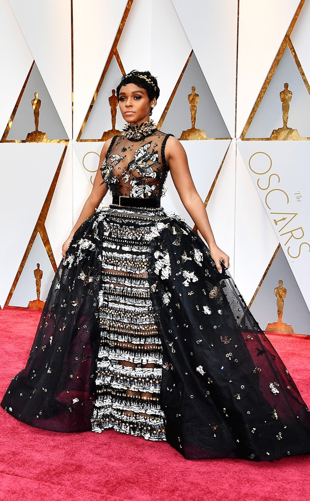 ESC: Janelle Monae, Oscars Best Dressed Ever