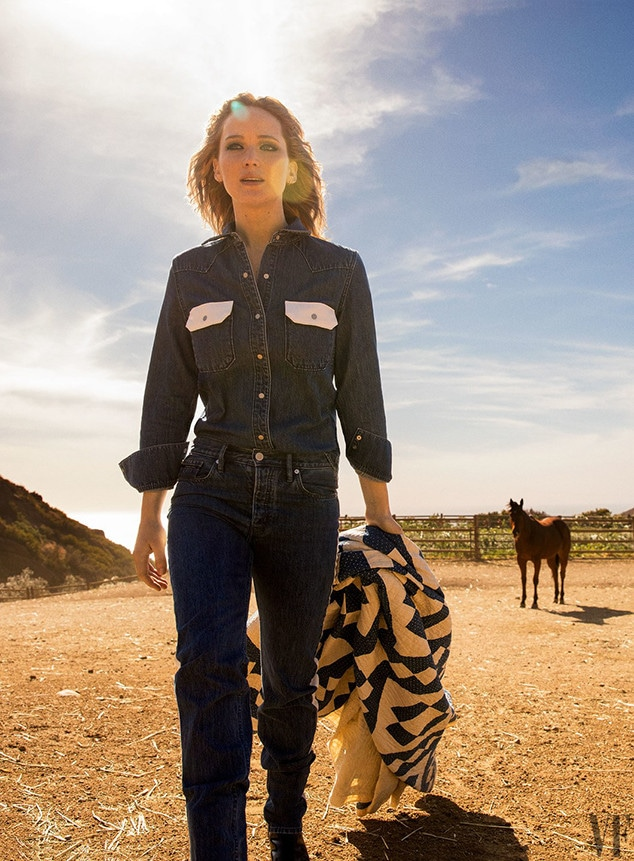 Jennifer Lawrence, Vanity Fair