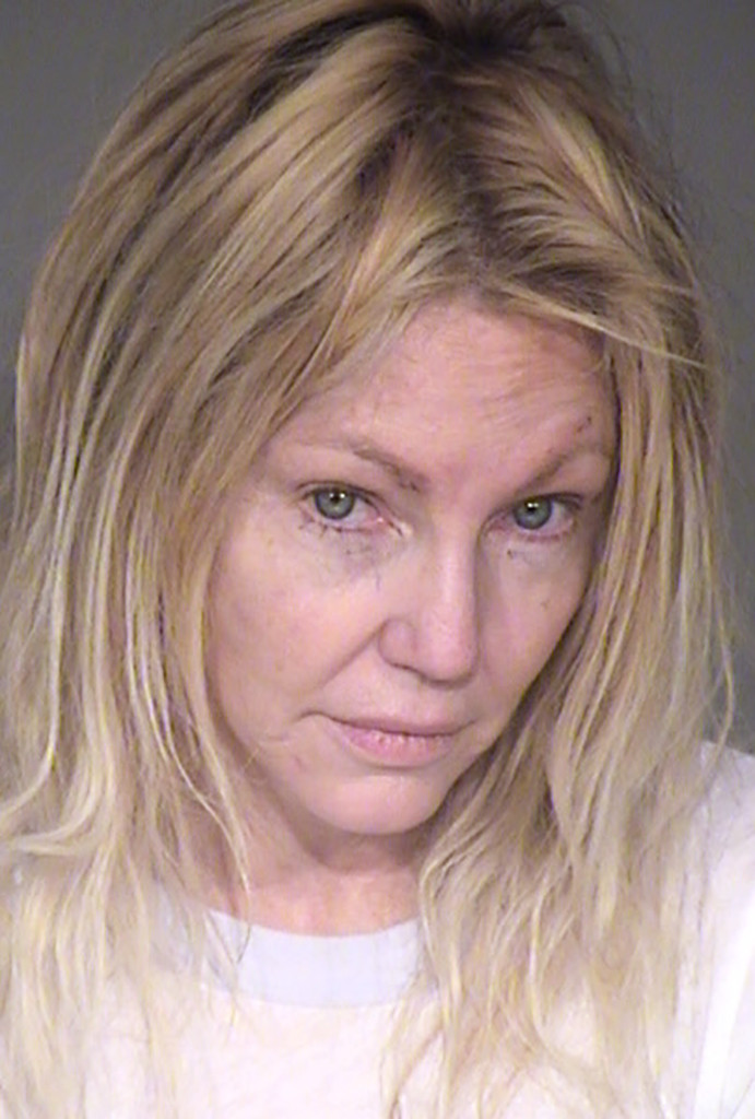 Heather Locklear, Mug Shot