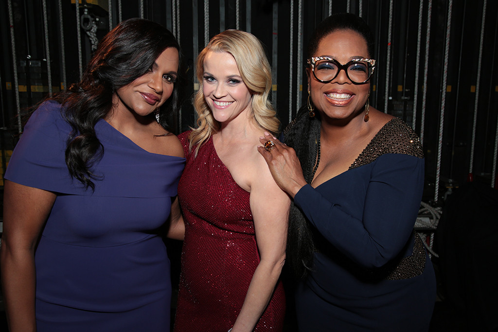 Mindy Kaling, Reese Witherspoon, Oprah Winfrey, A Wrinkle in Time Premiere