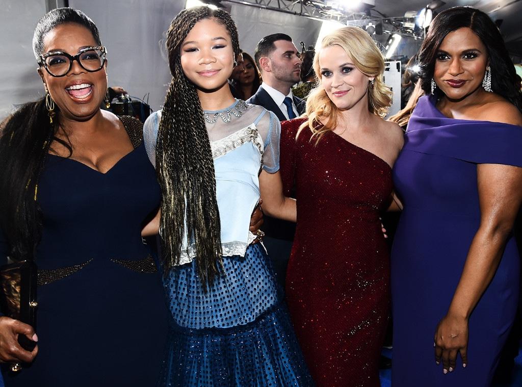 ESC: Reese Witherspoon, Mindy Kaling, Oprah Winfrey, Storm Reid