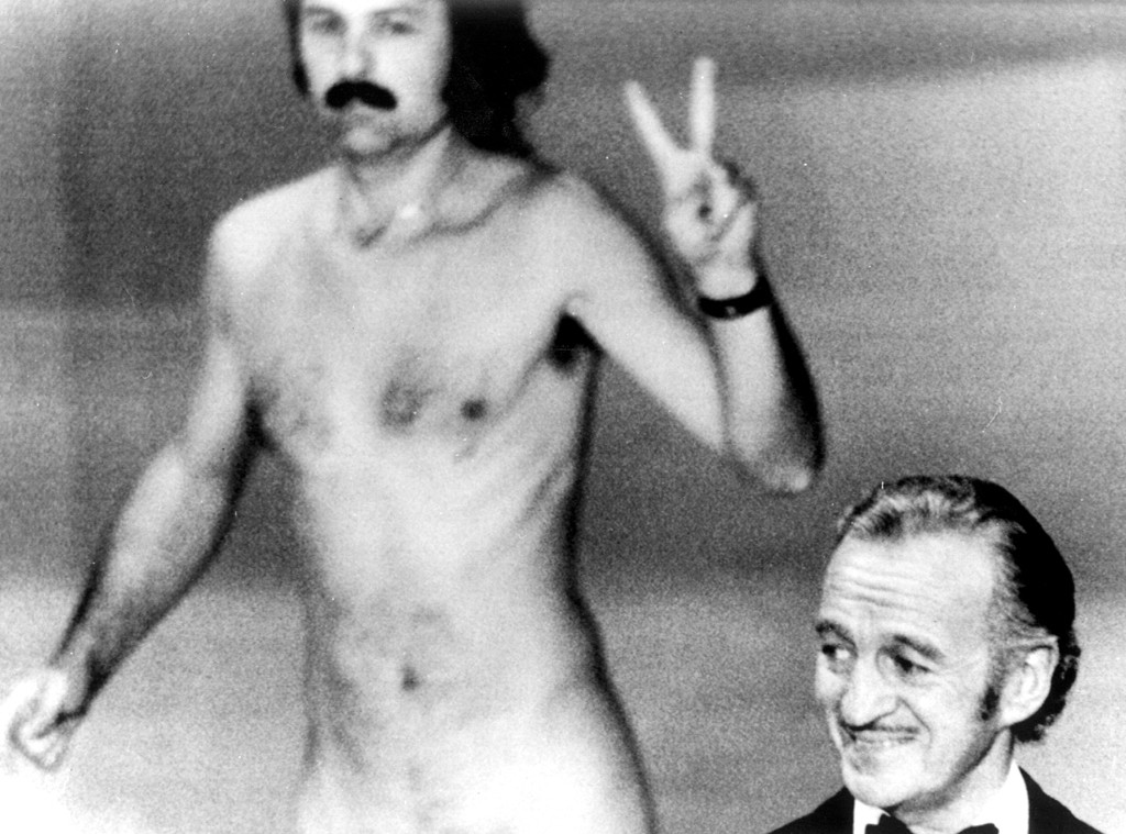 David Niven, Streaker, Most Shocking Oscar Moments