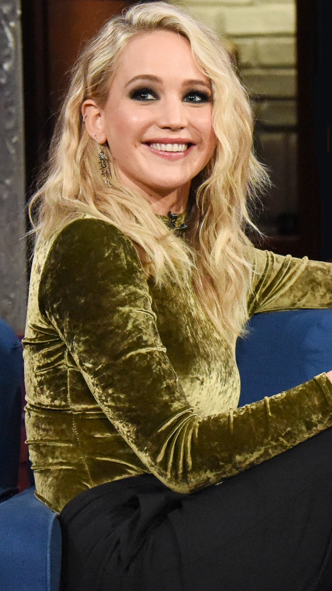 Jennifer Lawrence, The Late Show with Stephen Colbert