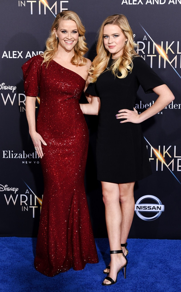 Premiere Partners -  Clearly, Phillippe inherited her mom's killer, blonde locks and power stance.