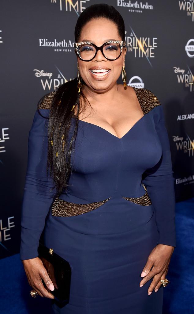 Oprah Winfrey, A Wrinkle in Time Premiere