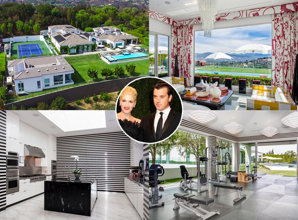 Go Inside Gwen Stefani and Gavin Rossdale's $35 Million ...