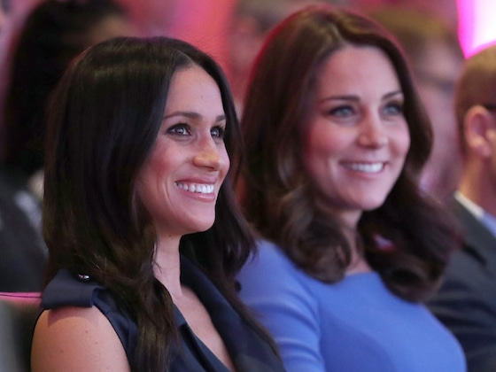 Meghan Markle and Kate Middleton Are Twinning Royals in Polka Dots